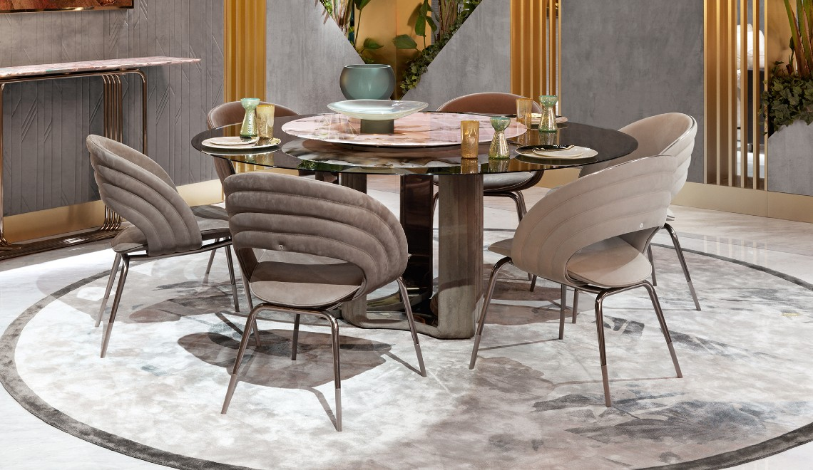 Modern Dining Room Designs From High-End Designers And Brands