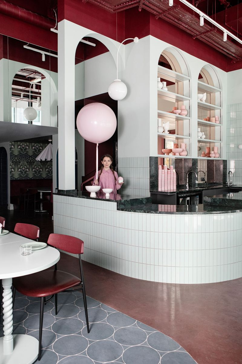 Bubblegum Pink Vibes Are The Norm For This Restaurant Design (2) restaurant design Bubblegum Pink Vibes Are The Norm For This Restaurant Design Bubblegum Pink Vibes Are The Norm For This Restaurant Design 2