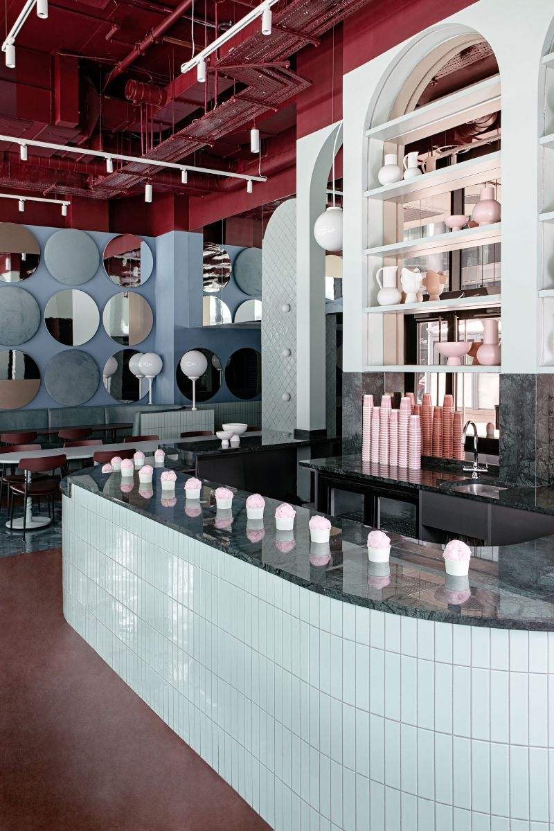 Bubblegum Pink Vibes Are The Norm For This Restaurant Design (4) restaurant design Bubblegum Pink Vibes Are The Norm For This Restaurant Design Bubblegum Pink Vibes Are The Norm For This Restaurant Design 4