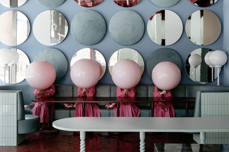 Bubblegum Pink Vibes Are The Norm For This Restaurant Design (6) restaurant design Bubblegum Pink Vibes Are The Norm For This Restaurant Design Bubblegum Pink Vibes Are The Norm For This Restaurant Design 6 1