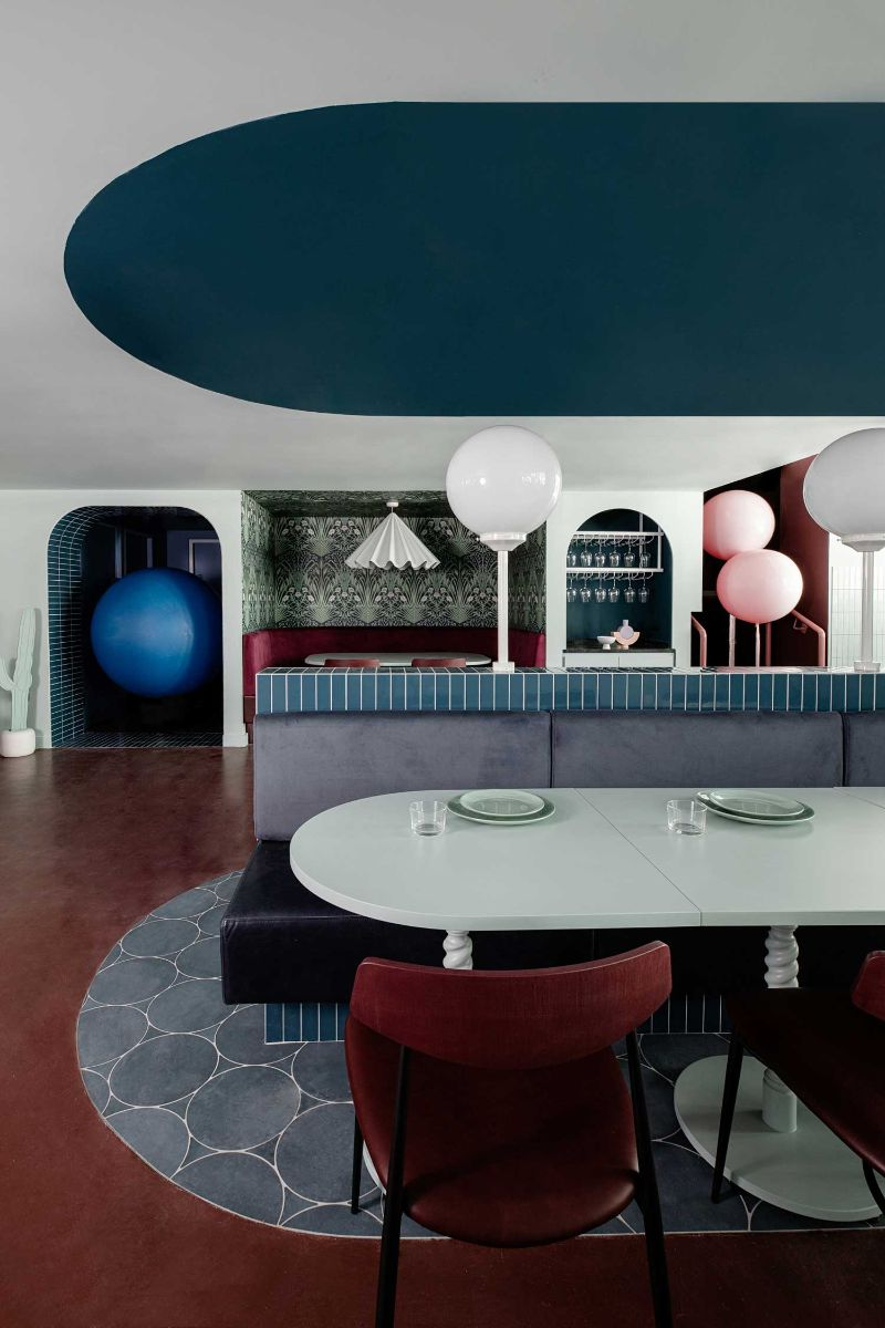 Bubblegum Pink Vibes Are The Norm For This Restaurant Design (9) restaurant design Bubblegum Pink Vibes Are The Norm For This Restaurant Design Bubblegum Pink Vibes Are The Norm For This Restaurant Design 9