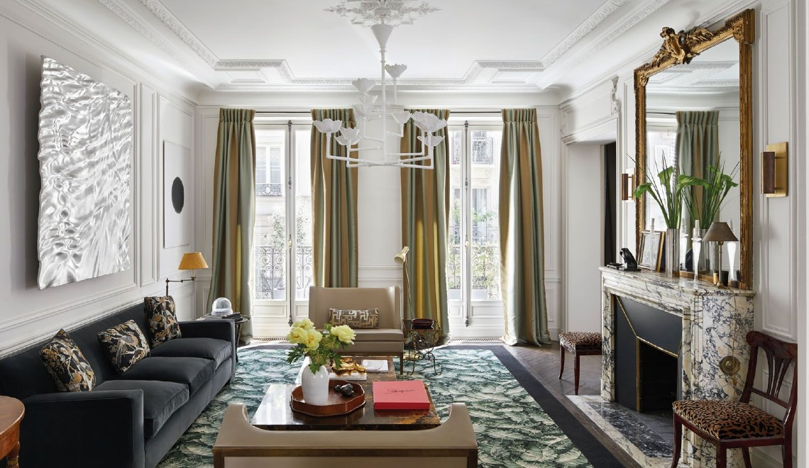 Champeau and Wilde's Welcome You To A Modern Paris Apartment