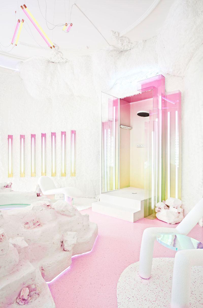 Patricia Bustos Studio Creates A Neon-Inspired Bathroom Design (10) patricia bustos Patricia Bustos Studio Creates A Neon-Inspired Bathroom Design Patricia Bustos Studio Creates A Neon Inspired Bathroom Design 10