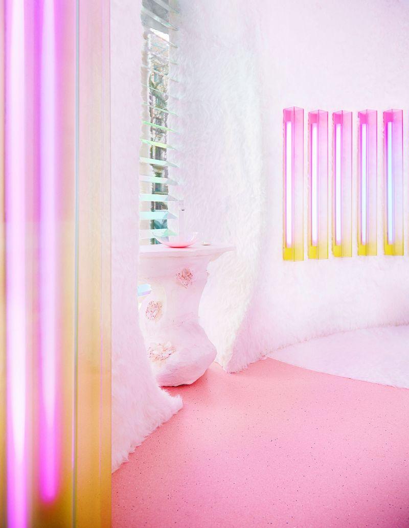 Patricia Bustos Studio Creates A Neon-Inspired Bathroom Design (2) patricia bustos Patricia Bustos Studio Creates A Neon-Inspired Bathroom Design Patricia Bustos Studio Creates A Neon Inspired Bathroom Design 2