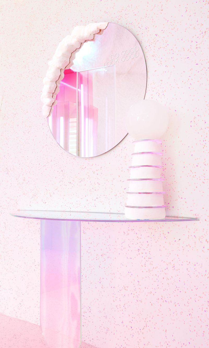 Patricia Bustos Studio Creates A Neon-Inspired Bathroom Design (6) patricia bustos Patricia Bustos Studio Creates A Neon-Inspired Bathroom Design Patricia Bustos Studio Creates A Neon Inspired Bathroom Design 6