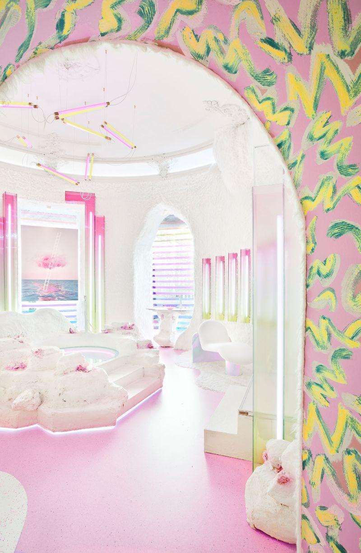 Patricia Bustos Studio Creates A Neon-Inspired Bathroom Design (8) patricia bustos Patricia Bustos Creates A Neon-Dreamy Bathroom Design Away From Cliché Patricia Bustos Studio Creates A Neon Inspired Bathroom Design 8