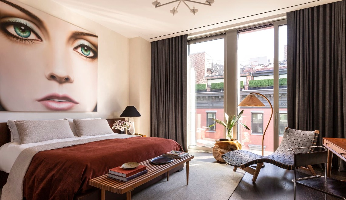 This Luxury Apartment Perfectly Fuses Art Deco And Italian Modernism