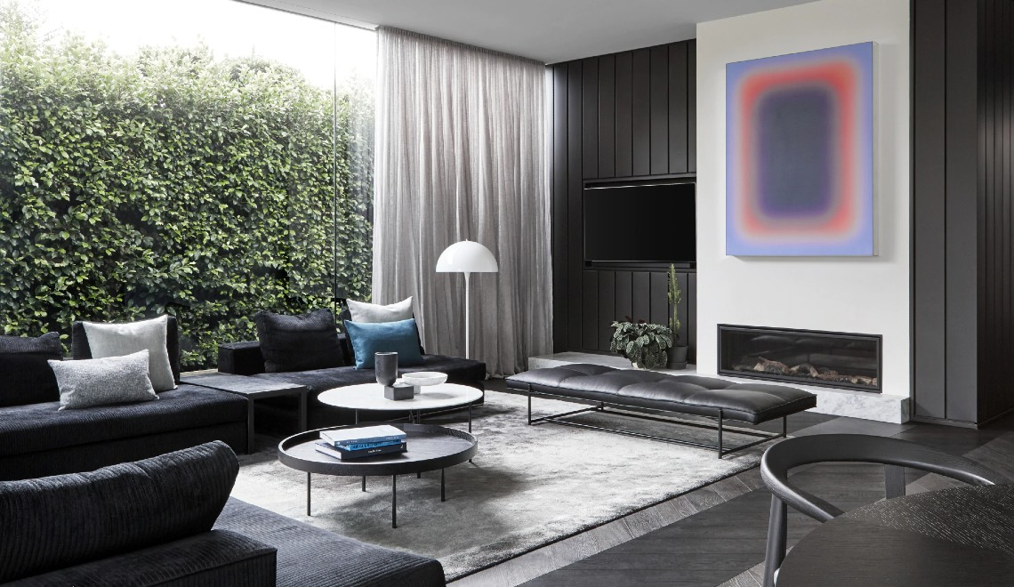 A Modern Art Collection Inspires The Design Of This Luxury Home