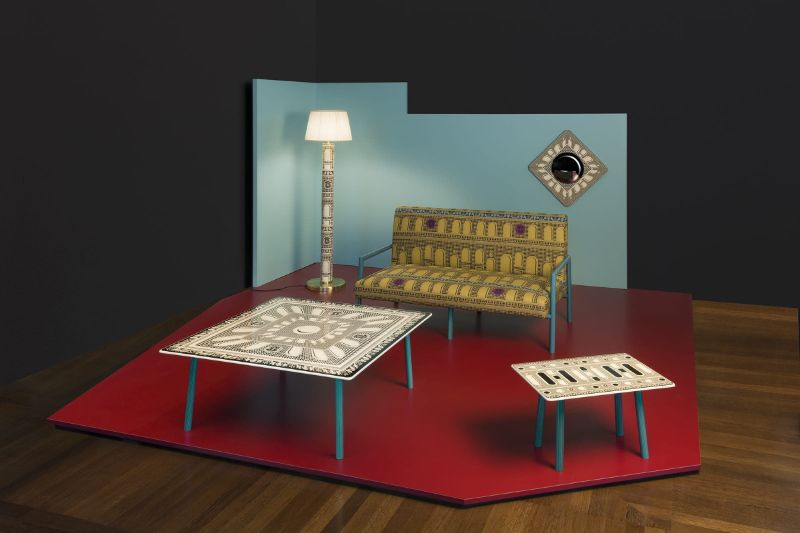 "Fornasetti Reveals Five Unusual Living Rooms Designs (5) fornasetti ""Unusual Living Rooms"", A New Design Proposal By Fornasetti Fornasetti Reveals Five Unusual Living Rooms Designs 5"