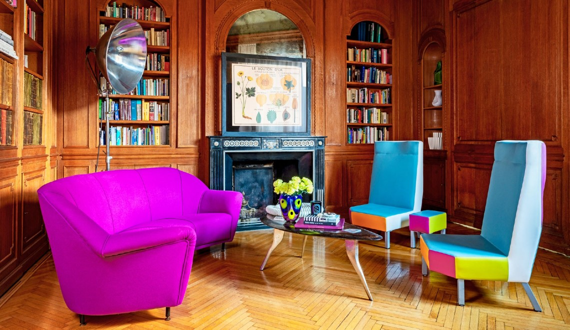 Inside A Colourful Yet Classic Milan Apartment