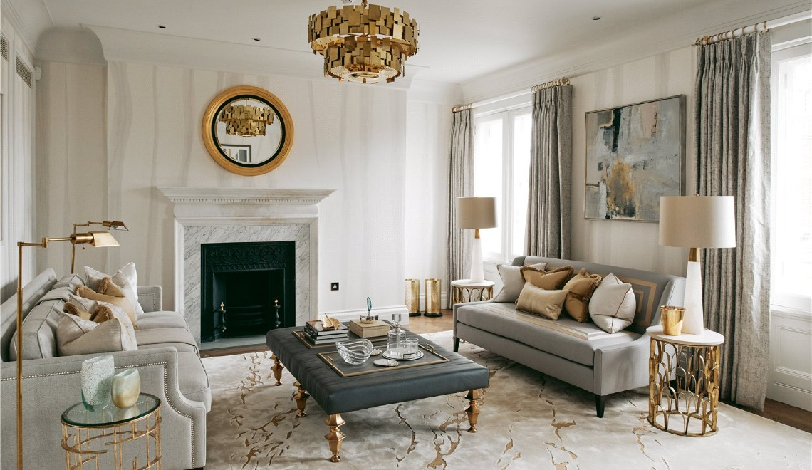 Katharine Pooley's Regal-Like London Interior Design Project