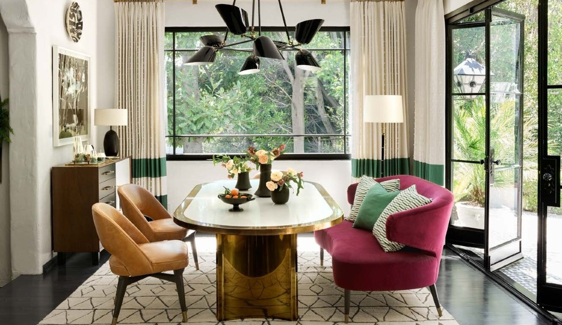 Martyn Lawrence Bullard's Best Celebrity Dining Room Designs