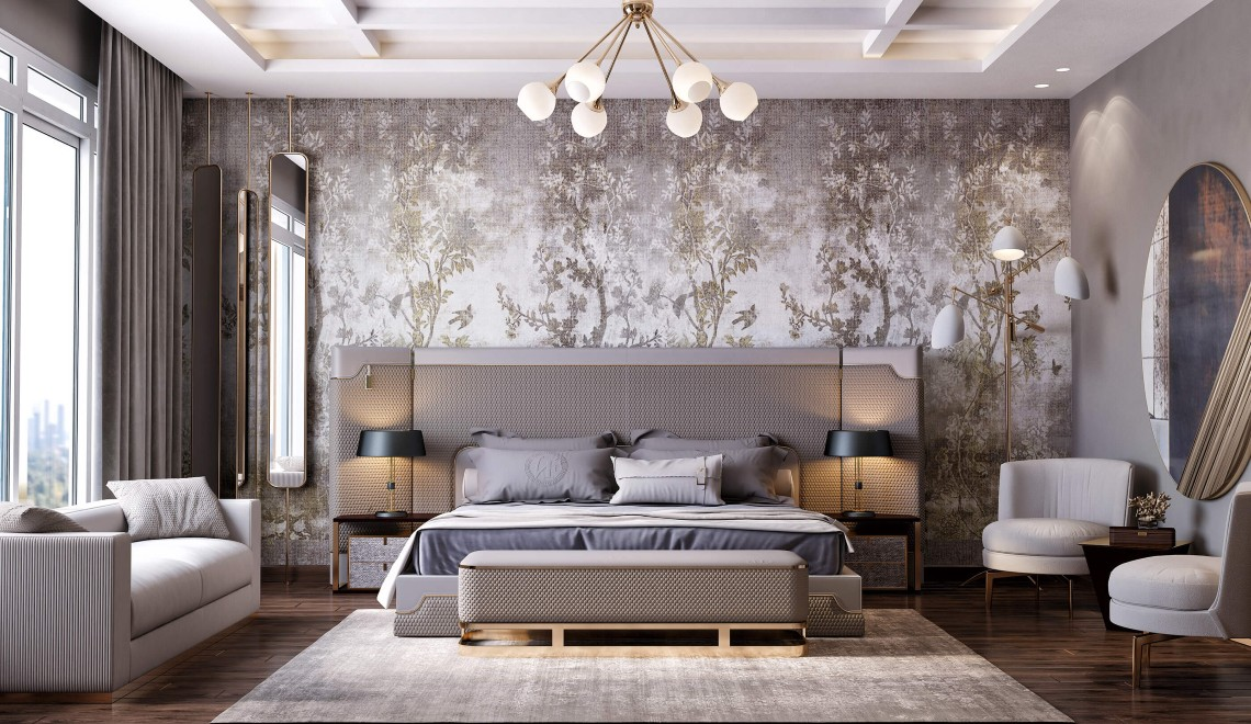 Modern Wallpaper Ideas For A Contemporary Bedroom Design