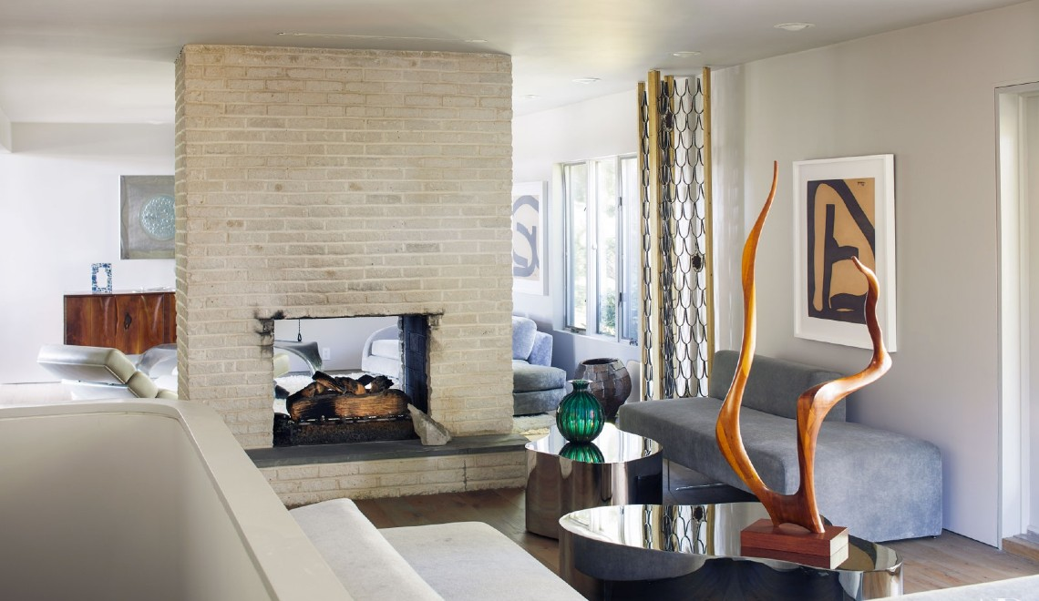 Synergy Of Art and Contemporary Design – Todd Merrill's Luxury Home