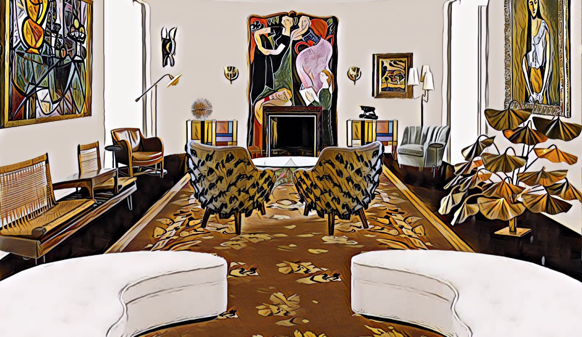 1stdibs Showcases How 10 Top Designers Would Reinvent Iconic Interiors