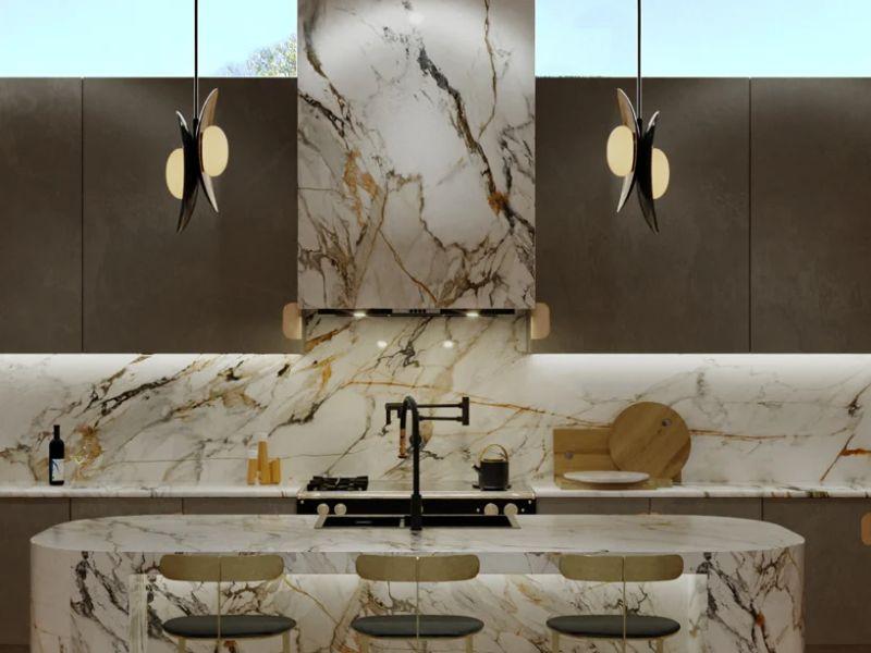 modern kitchen bel air carole carr padstyle.com