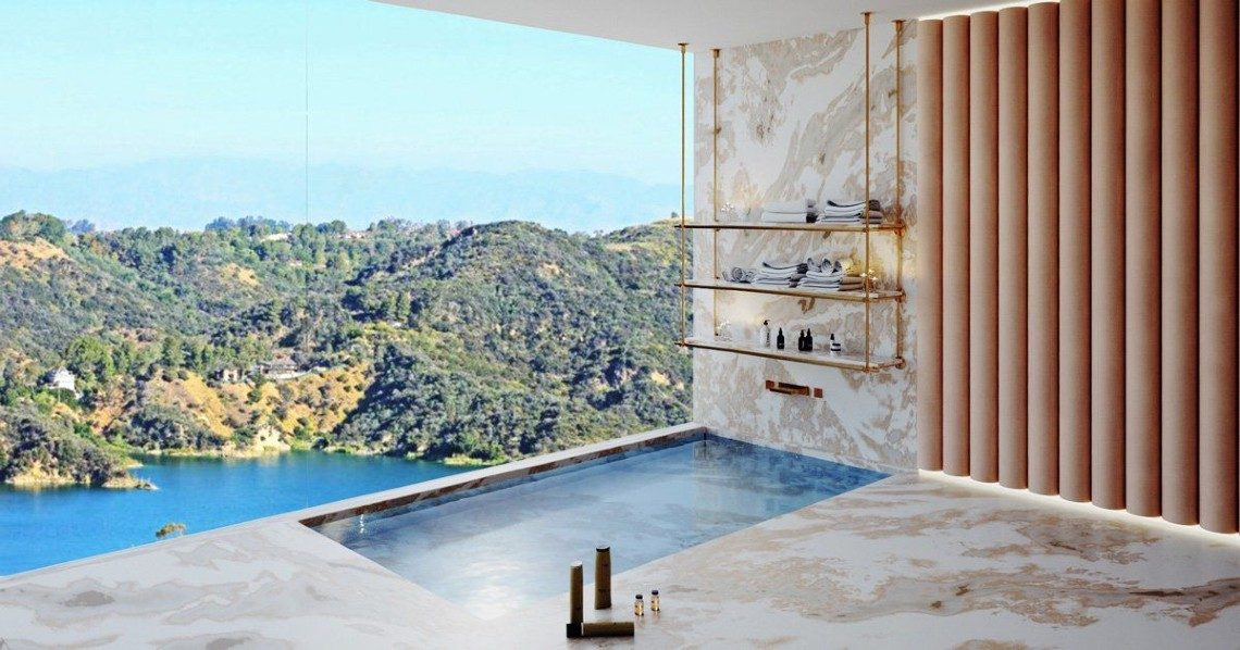 A Bel Air Residence With A Breathtaking Panoramic View