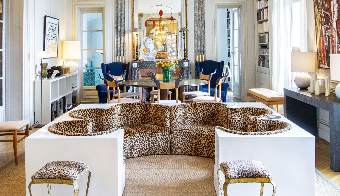A Luxury Apartment In The Heart Of Paris With A Coveted Art Collection