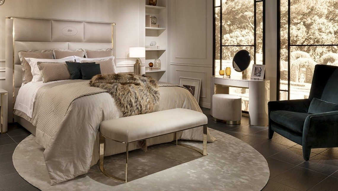 Bedroom Designs And Ideas By The Luxurious Fendi Casa Brand