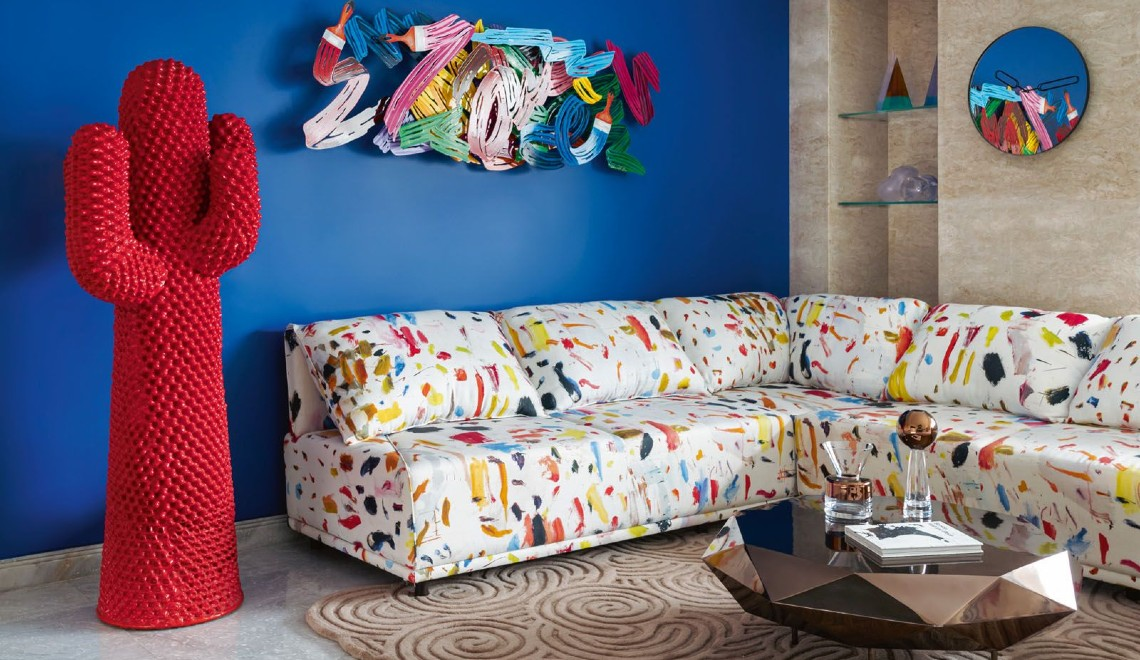 Design Inspirations And Ideas From A Pop Art-Filled Luxury Home