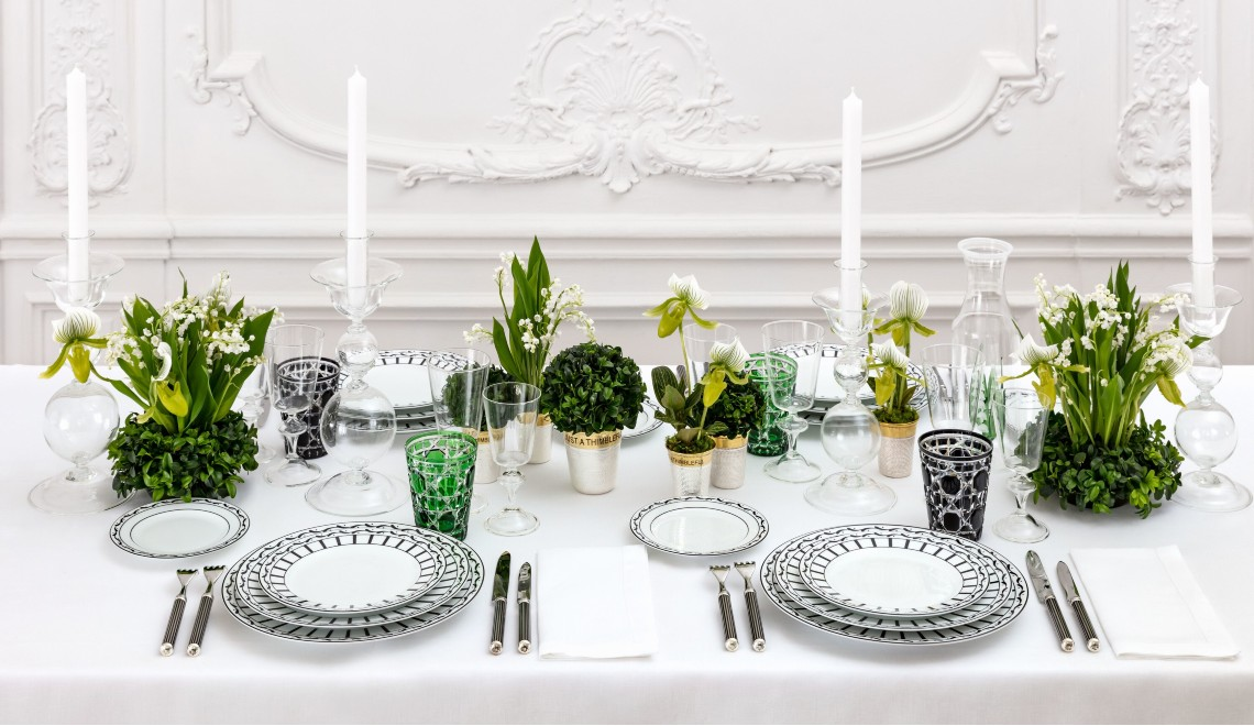 Dior's Tableware Collections Mix Traditional And Modern Design
