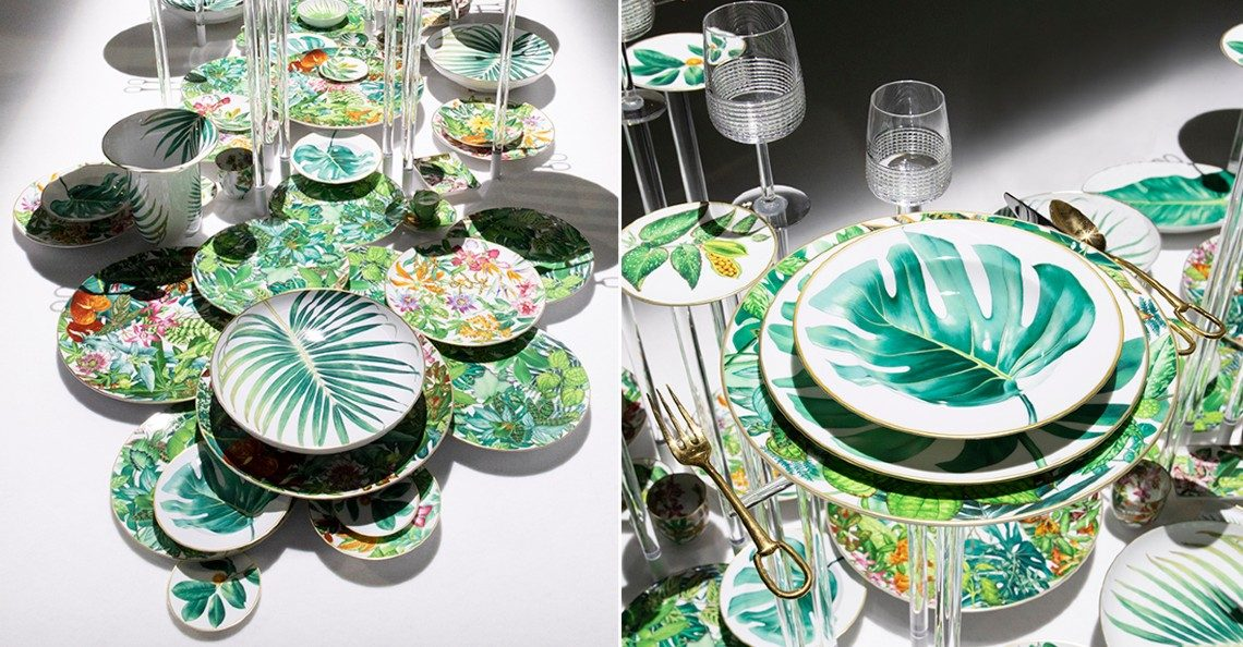 'Passifolia' – Hermès' Latest Nature-Inspired Tableware Collection