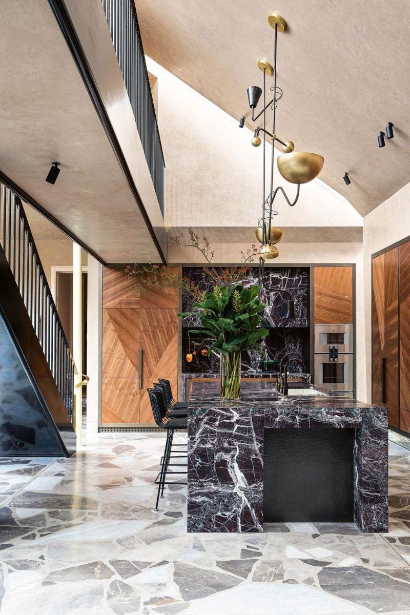 80s Memphis Meets 21st Century Metamodernism In Melbourne Luxury Home (8)