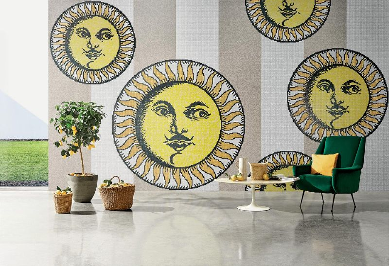 Bisazza and Fornasetti Team Up To Create Striking Mosaic Panels (1) fornasetti Fornasetti and Bisazza Mosaics Join Forces For A Remarkable Collab Bisazza and Fornasetti Team Up To Create Striking Mosaic Panels 1