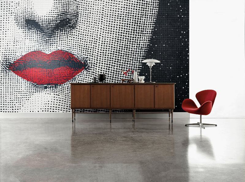 Bisazza and Fornasetti Team Up To Create Striking Mosaic Panels (3) fornasetti Fornasetti and Bisazza Mosaics Join Forces For A Remarkable Collab Bisazza and Fornasetti Team Up To Create Striking Mosaic Panels 3