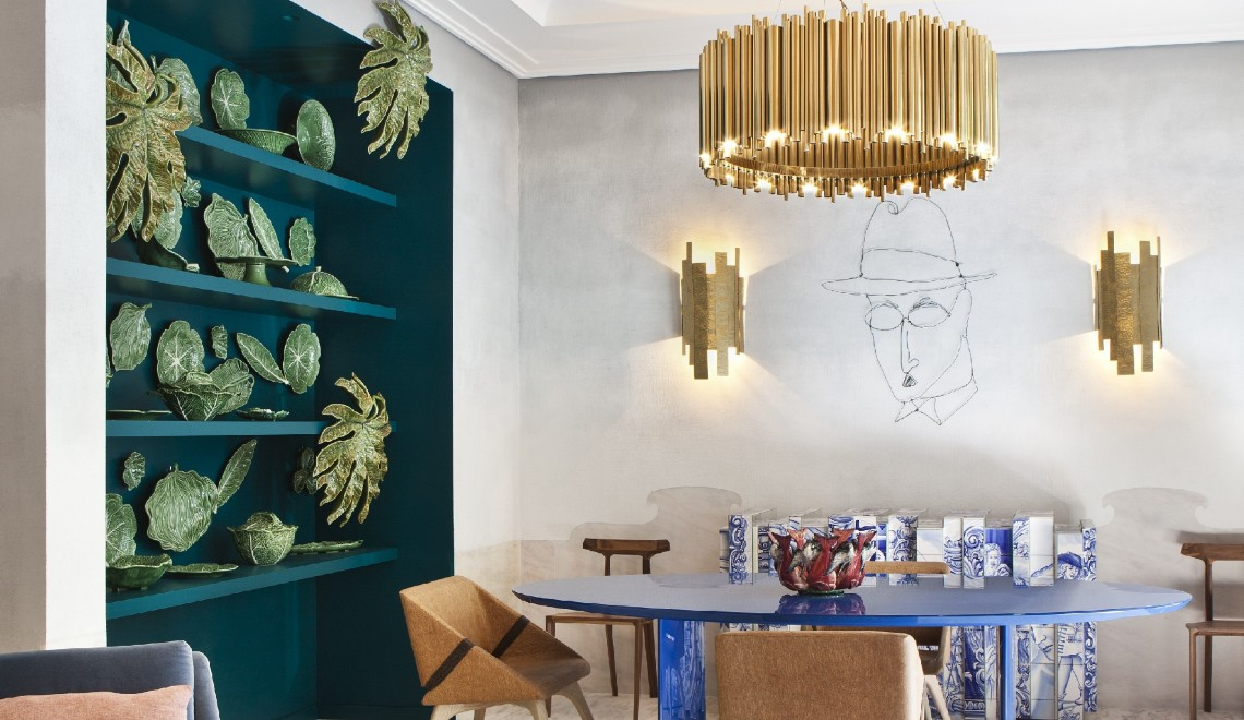 Mediterranean Décor House, A Memorable Creation By Pepe Leal