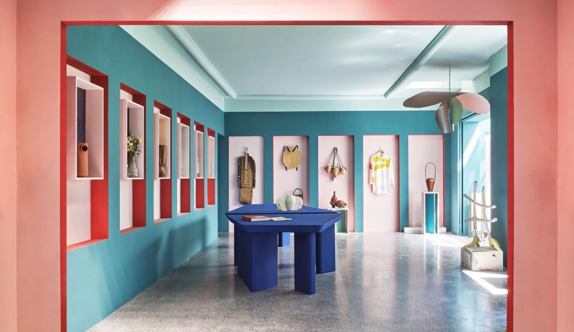 Pierre Yovanovitch Creates Colourful Boutique For Design Parade Hyères FT