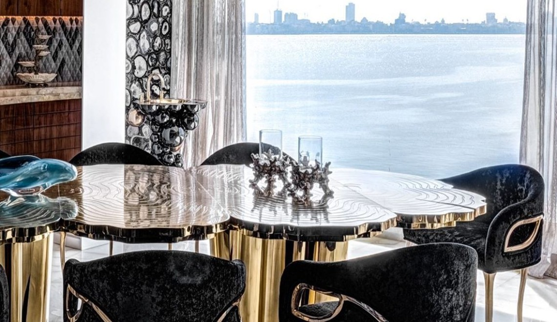 The Most Striking Dining Room Designs Instagram Has To Offer  ft dining room design The Most Striking Dining Room Designs Instagram Has To Offer  The Most Striking Dining Room Designs Instagram Has To Offer ft