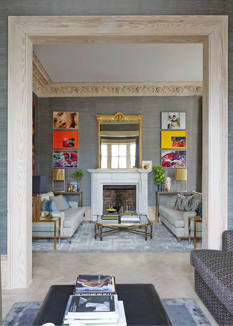 Peter Mikic Restores West London Townhouse To It's Original Charm (1) peter mikic Peter Mikic Restores West London Townhouse To It's Original Charm Peter Mikic Restores West London Townhouse To Its Original Charm 1