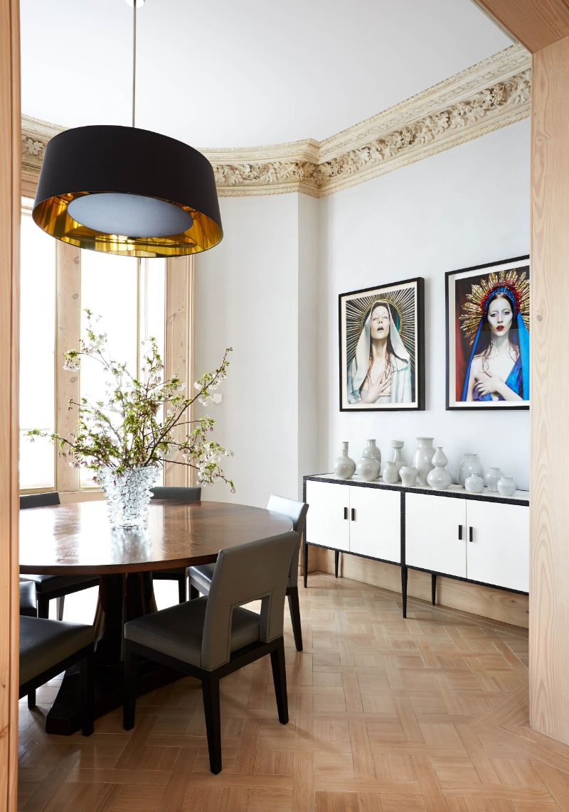 Peter Mikic Restores West London Townhouse To It's Original Charm (10) peter mikic Peter Mikic Restores West London Townhouse To It's Original Charm Peter Mikic Restores West London Townhouse To Its Original Charm 10