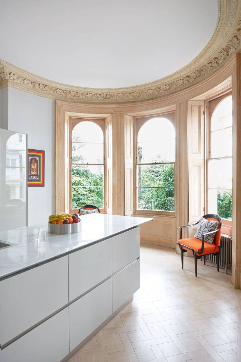 Peter Mikic Restores West London Townhouse To It's Original Charm (4) peter mikic Peter Mikic Restores West London Townhouse To It's Original Charm Peter Mikic Restores West London Townhouse To Its Original Charm 4