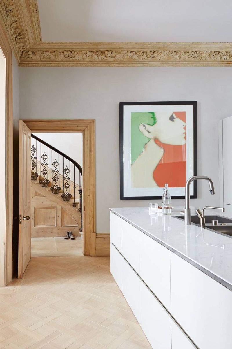 Peter Mikic Restores West London Townhouse To It's Original Charm (5) peter mikic Peter Mikic Restores West London Townhouse To It's Original Charm Peter Mikic Restores West London Townhouse To Its Original Charm 5