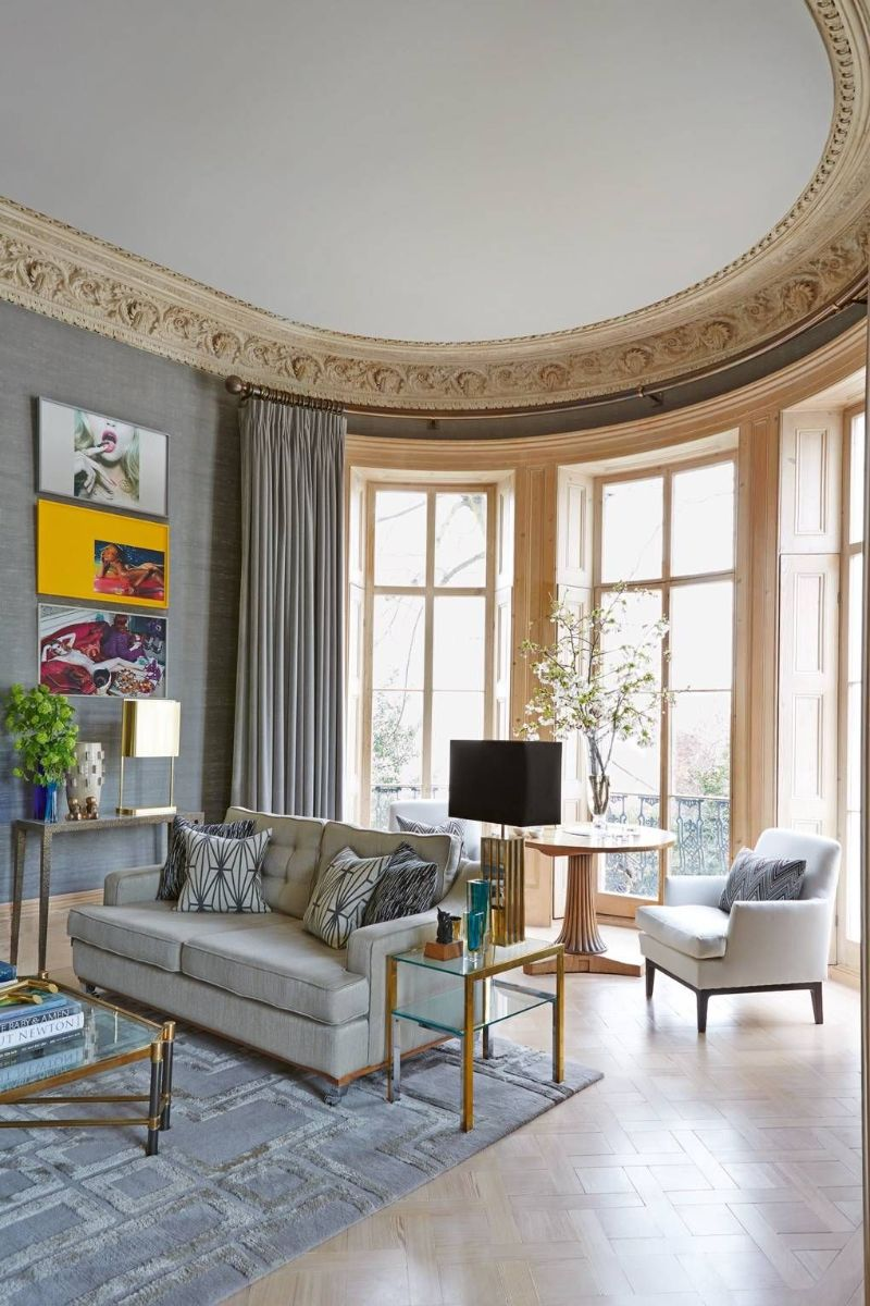 Peter Mikic Restores West London Townhouse To It's Original Charm (9)