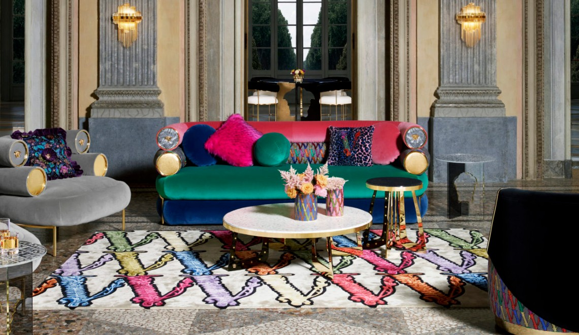 The Essence Of Luxury Living, Discover Versace's Home Collection 2020