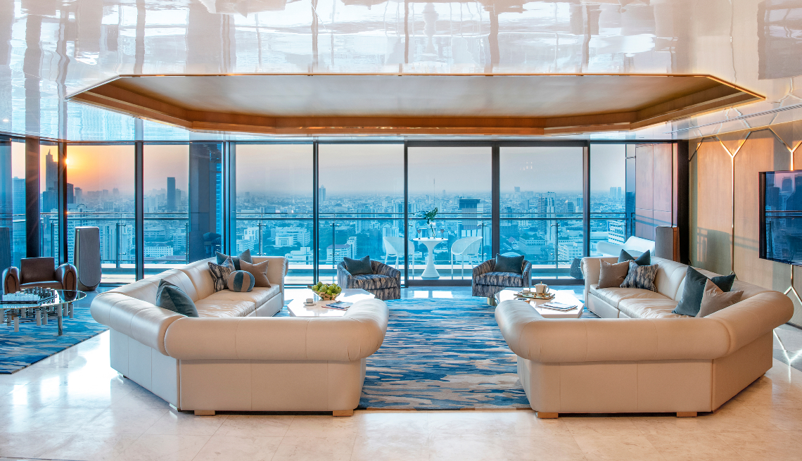 Design Intervention's Stellar Luxury Creation Meets Bangkok's Skyline
