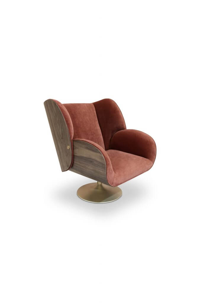 studiopepe Studiopepe & Essential Home Collection: A Geometrical Concept Of Design Studiopepe Essential Home Collection A Geometrical Concept Of Design VIRGINIA ARMCHAIR