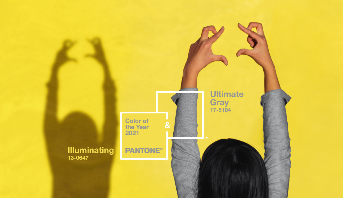pantone color of the year Pantone Color Of The Year Is Here In Pairs! Illuminating Yellow and Ultimate Gray Pantone Color Of The Year Is Here In Pairs Illuminating Yellow and Ultimate Gray