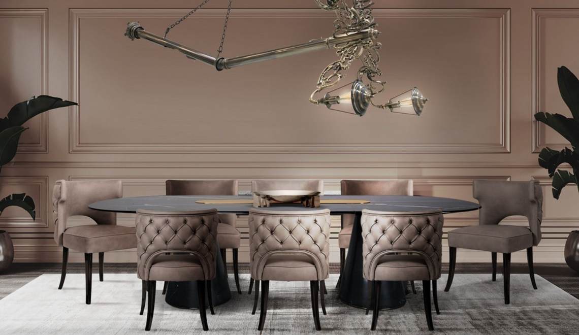 25 Modern Dining Tables With A Luxury Design