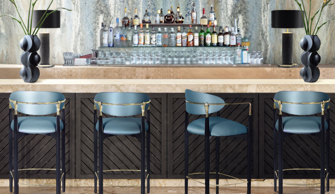 bar chairs 25 Bar Chairs Perfect For A Luxurious Private Bar feature image 2021 01 27T173332