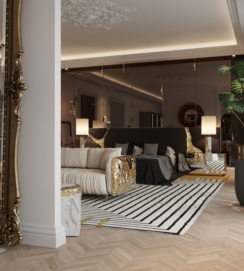 This Is What A Luxury Penthouse's Master Suite Looks Like master suite Inside An Opulent Luxury Penthouse's Master Suite 28