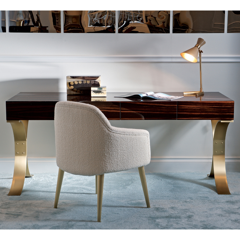 Working From Home? Here's Our Selection Of 15 Modern Desks modern desk Working From Home? Here's Our Selection Of 15 Modern Desks CELINE WRITING DESK 1 1