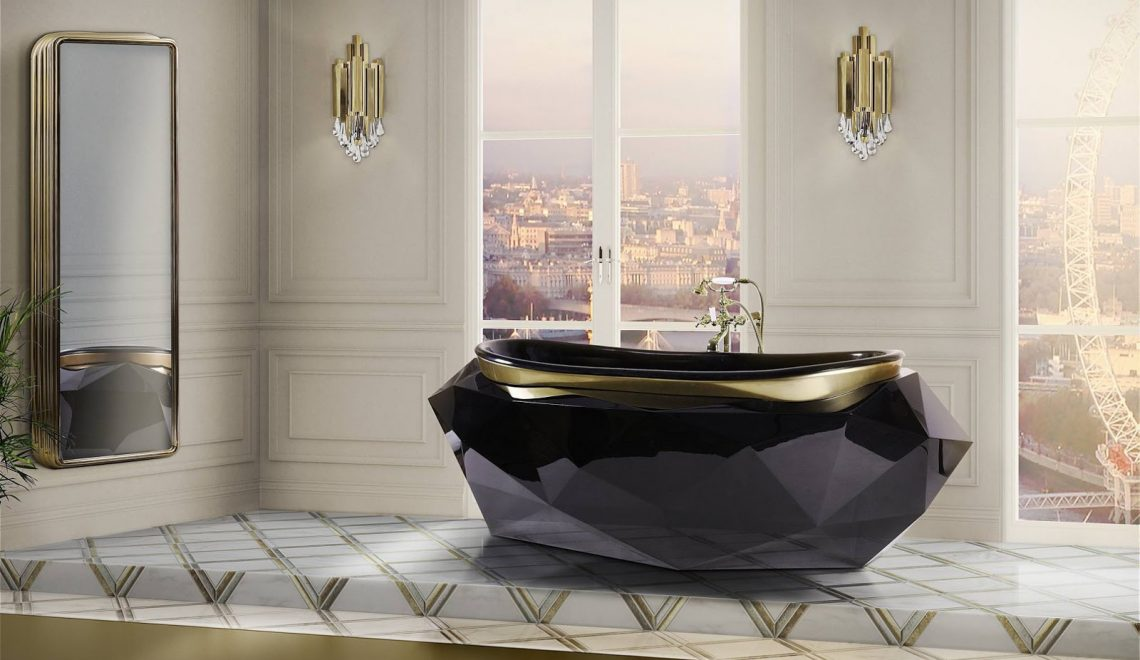 luxury bathrooms Luxury Bathtubs For A Relaxing Yet Imposing Design feature image 1140x660