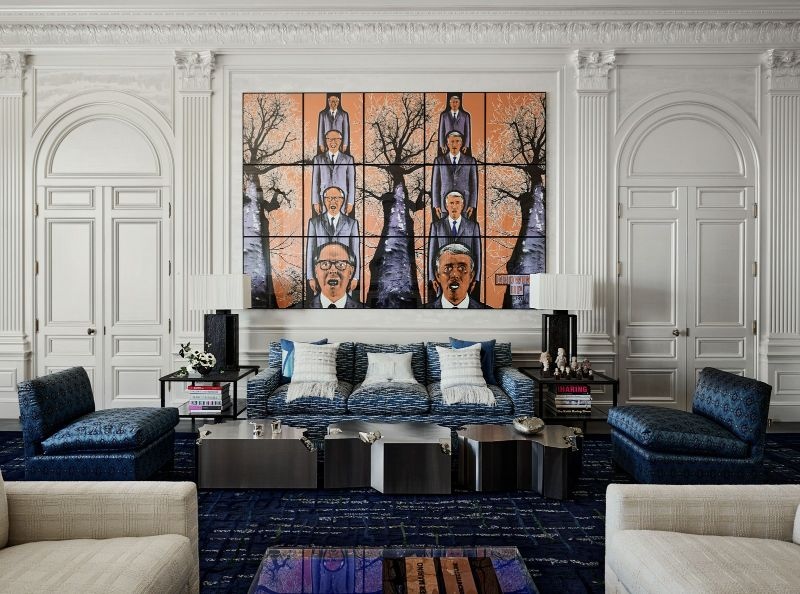 Art and design in perfect synergy: an historic mansion in San Francisco by Peter Marino peter marino An Historic Mansion In San Francisco by Peter Marino AD0121 MARINO 1