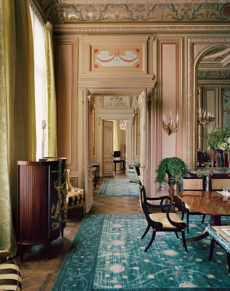 jacques grange Discover This Luxury Paris Mansion By The Distinguished Jacques Grange AD0321 GRANGE 11