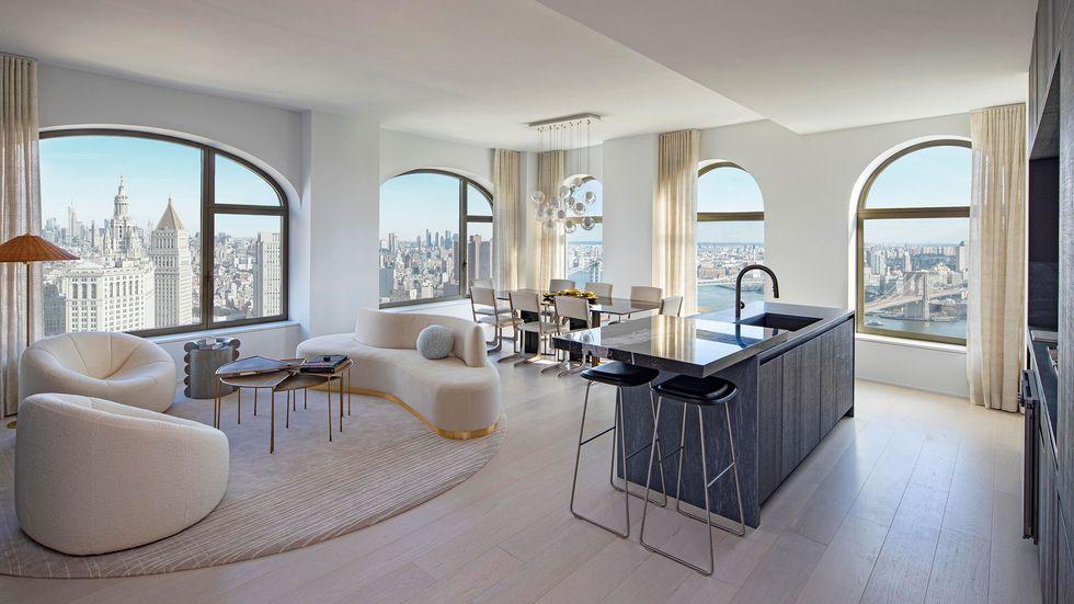 David Adjaye´s new Manhattan skyscraper: Take a look inside david adjaye David Adjaye's New Manhattan Skyscraper: Take A Look Inside image 4 41b living room edit 1615322171
