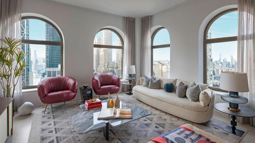 David Adjaye´s new Manhattan skyscraper: Take a look inside david adjaye David Adjaye's New Manhattan Skyscraper: Take A Look Inside image 5 41e living room edit 1615322040